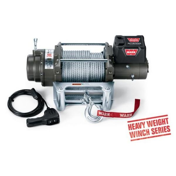 Warn 4x4 087801 winch Warn M12000 12V-5400kgs-steel cable 38m/9.5mm (remote=wireless)
