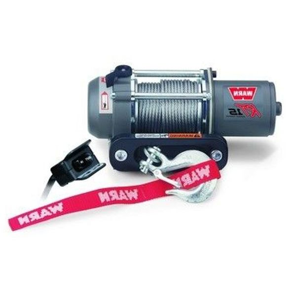 Warn Quad RT15 (78000) 12V CE Winch 680 Kg Incl. Wire Rope15m/4mm &