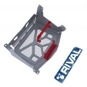 Rival radiator relocation kit for CF MOTO X8 2012- with fittings