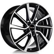 7.5x17 5x114.3 ET40 CTR73.1 Alu Avus Ac-518 Black polished 518075175114040731D0