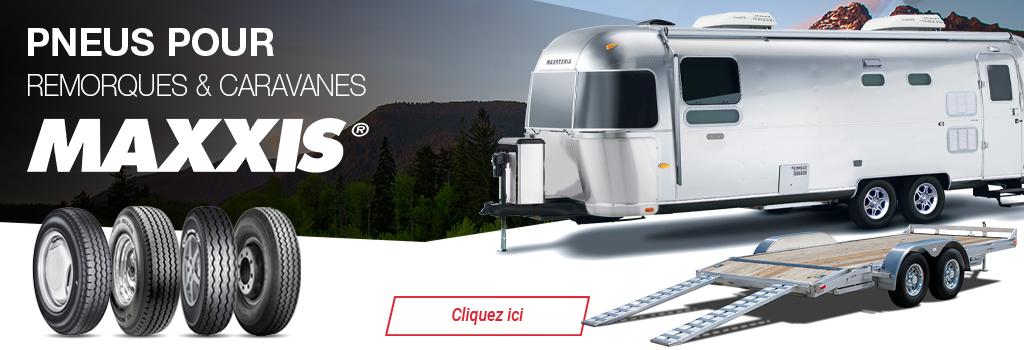 Maxxis pneus trailer