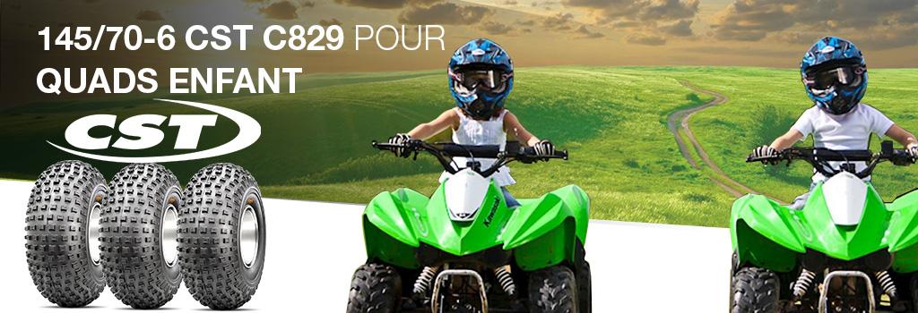 145/70-6 CST C829 pour quads enfant
