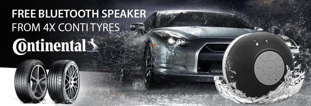 Free bluetooth speaker Continental