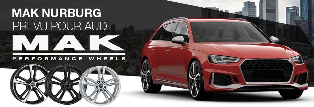 MAK Nurburg POUR Audi