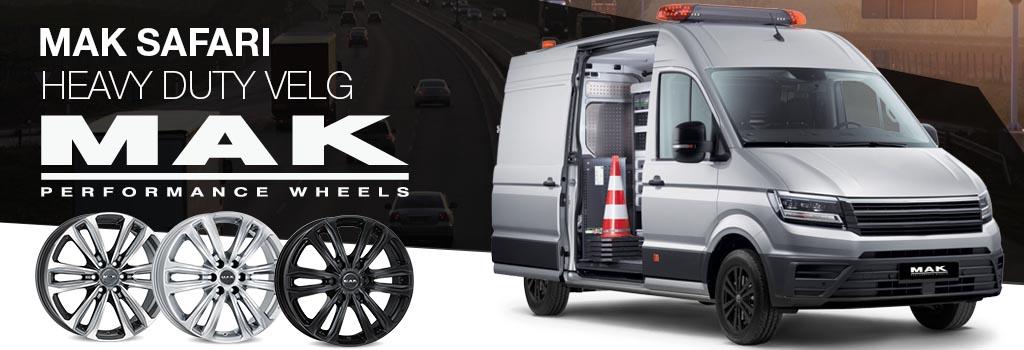 MAK Safari heavy duty wheel