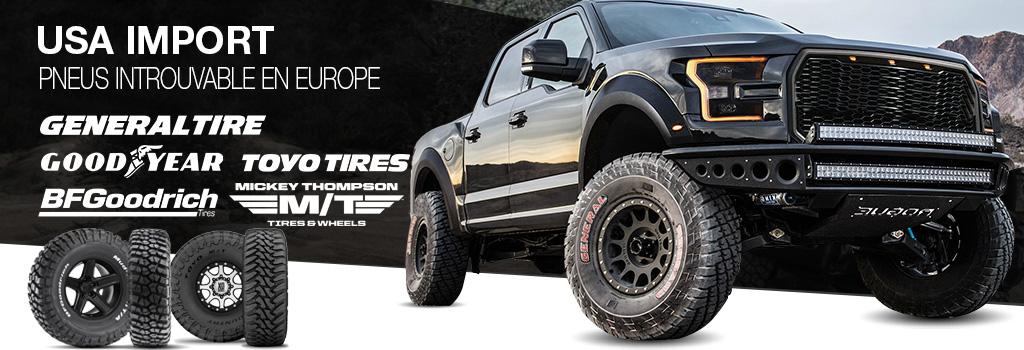 USA import pneus