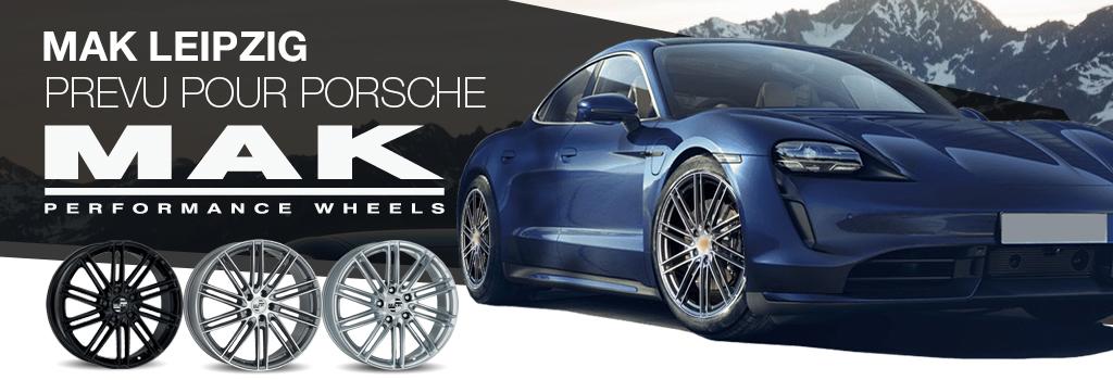 MAK jantes pour Porsche
