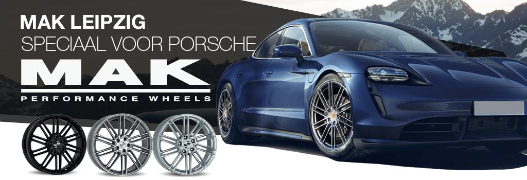 MAK velgen voor Porsche