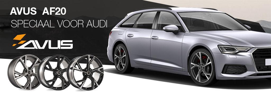 Avus velgen voor Audi
