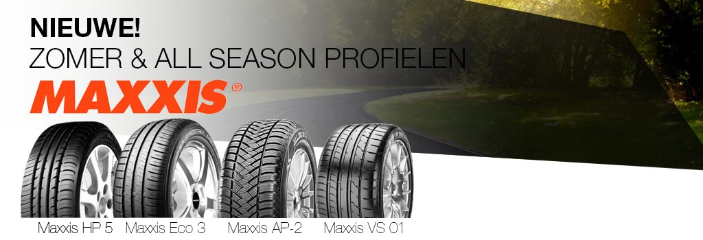 Nieuwe Maxxis Profielen: Eco 3, HP5