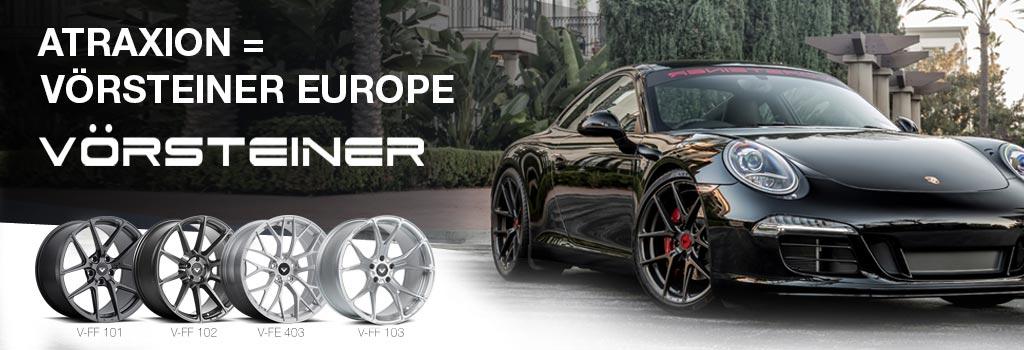 Atraxion official importeur of Vörsteiner wheels
