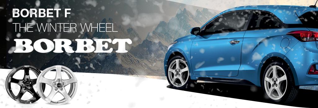 The winter wheel Borbet F