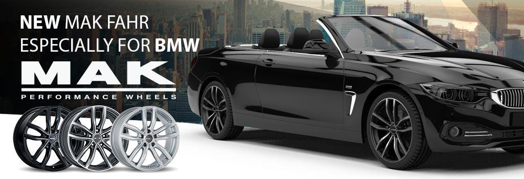 MAK Fahr especially for BMW
