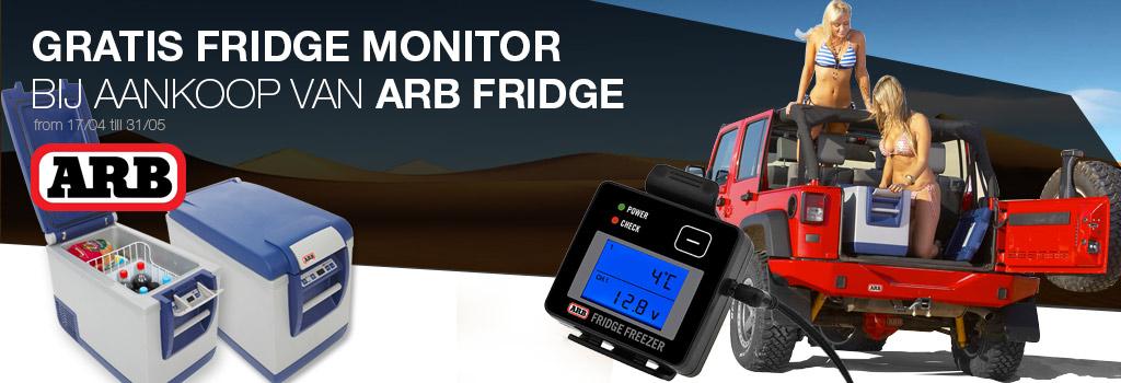 ARB Fridge Free Fridge monitor when you buy an ARB Fridge